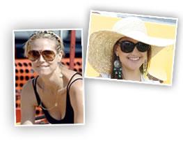 Les mères célèbrités, comme la mannequin Heidi Klum et l actrice Kate  Hudson, savent comment briller en lunettes de soleil Tom Ford. ed8a702c45d9